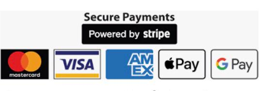 Shopping on Sjdreambeds.com is safe and secure. All information is encrypted and transmitted without risk using our secure Stripe payment facility.